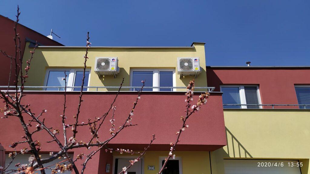 Splitové klimatizace - Montáž Ivanovice na Hané