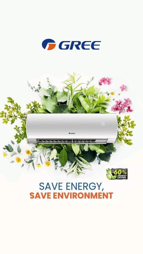 GREE - klimatizace, která šetří energii, šetří životní prostředí