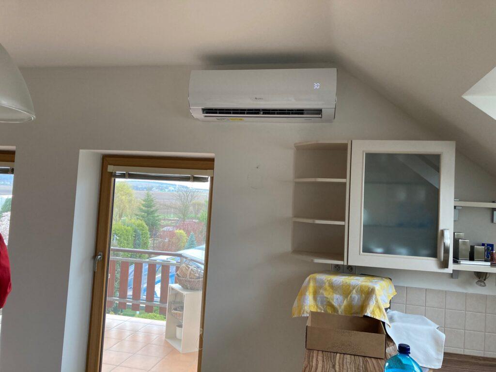 Instalace vnitřní klimatizační jednotky Vyškov